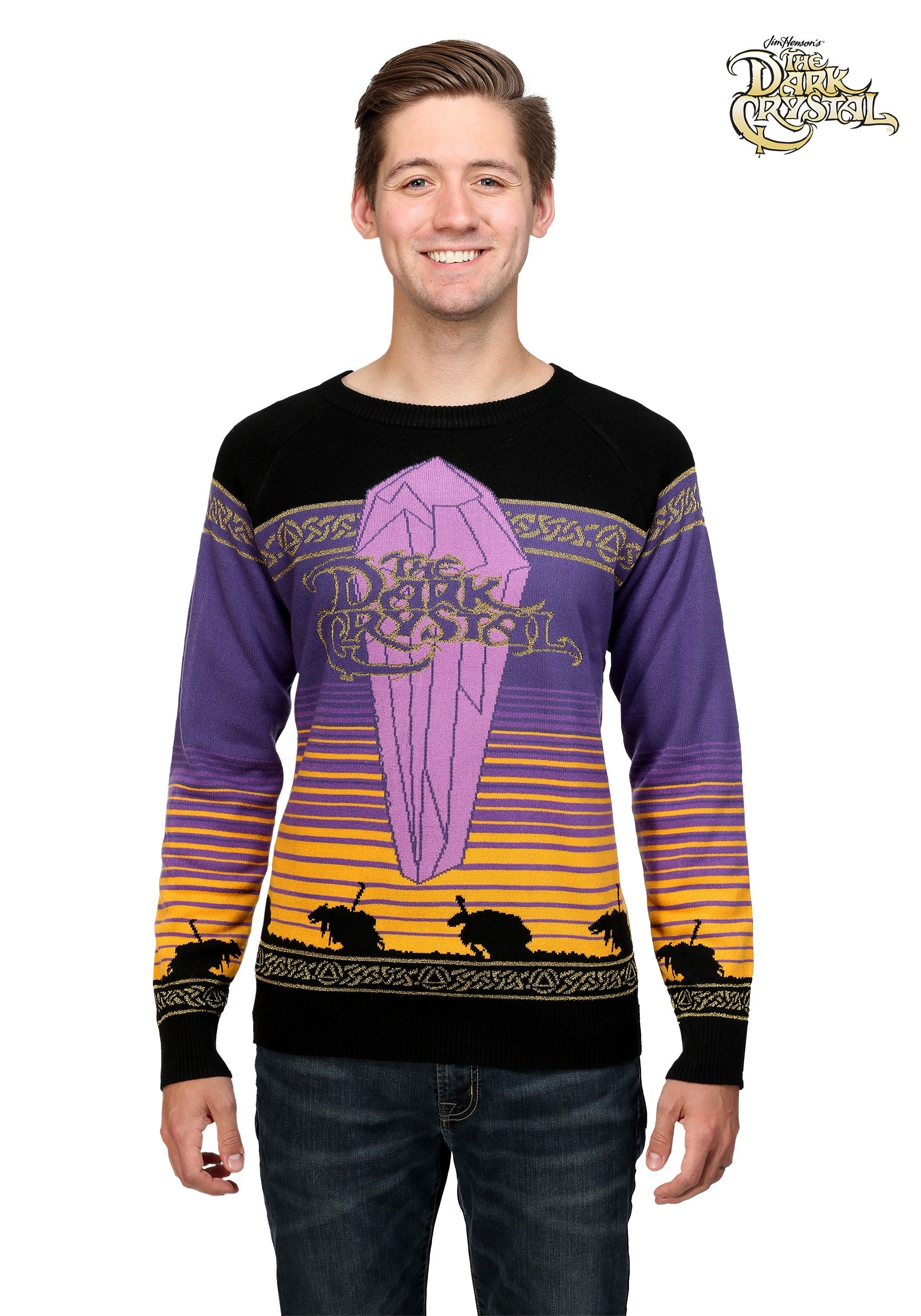 The Dark Crystal Movie Logo Ugly Christmas Sweater