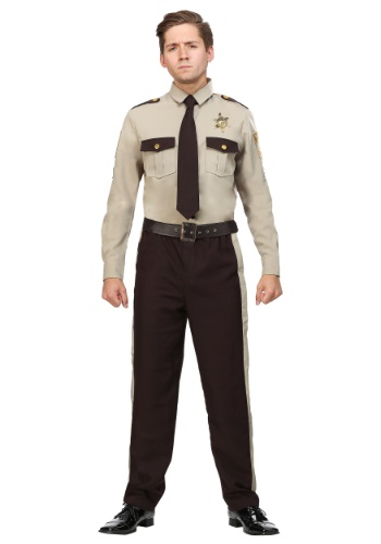 Mens Sheriff Plus Size Costume