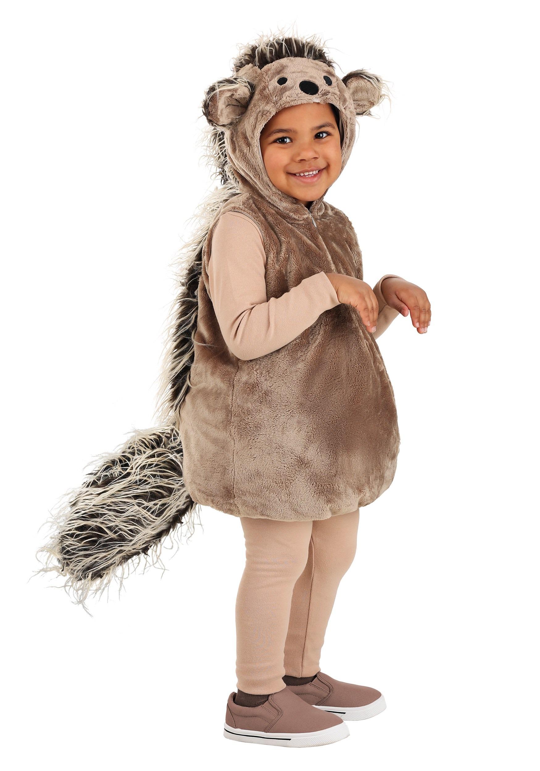 Porcupine Halloween Costume Custom Made Woodland Creature Animal Toddler Kids