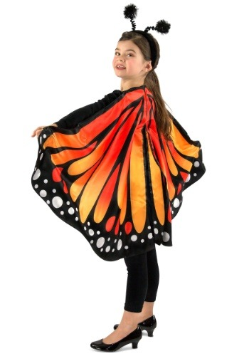 Monarch Butterfly Cape for Kids