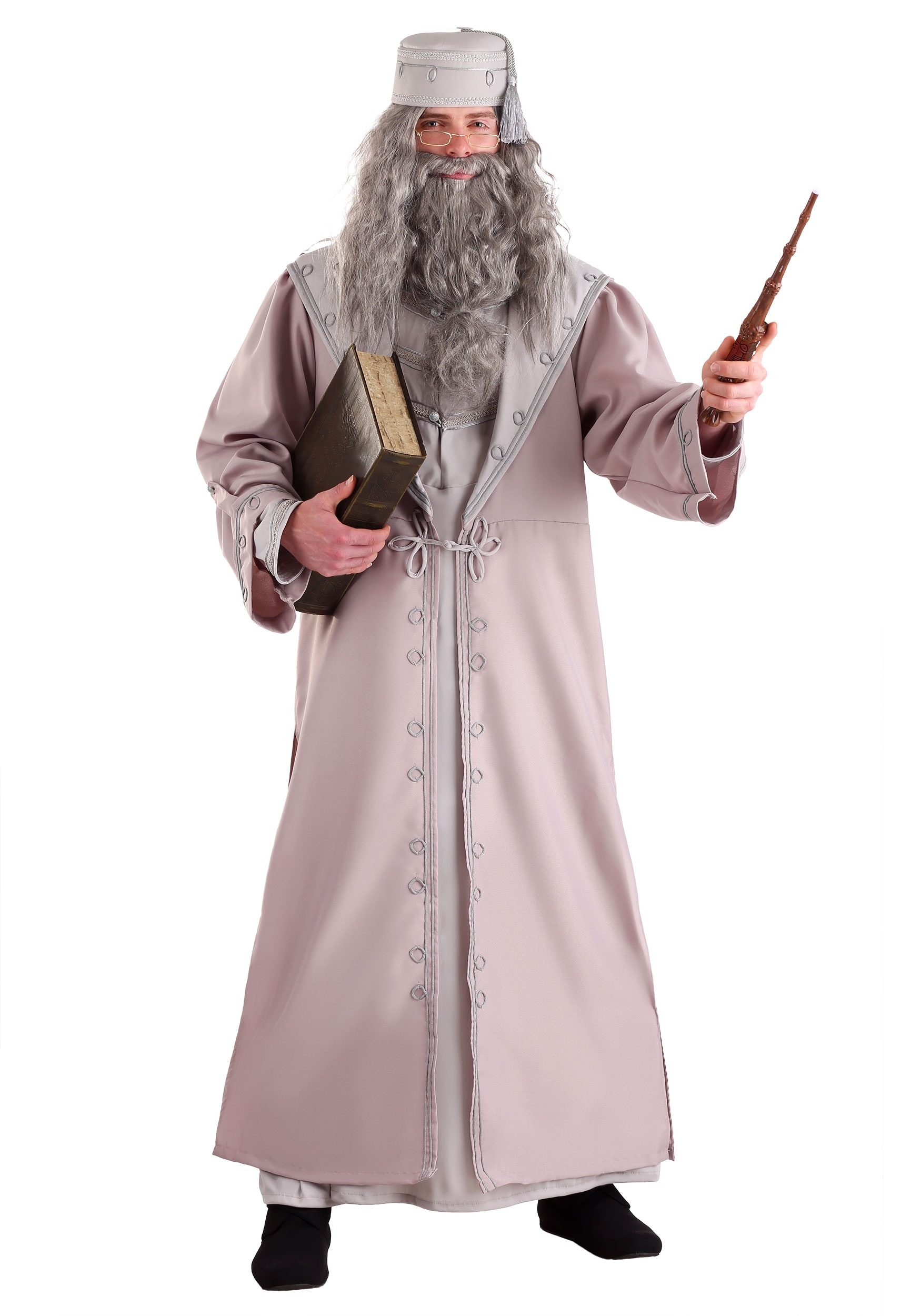Harry potter costumes accessories halloweencostumes deluxe dumbledore adult costume solutioingenieria Images