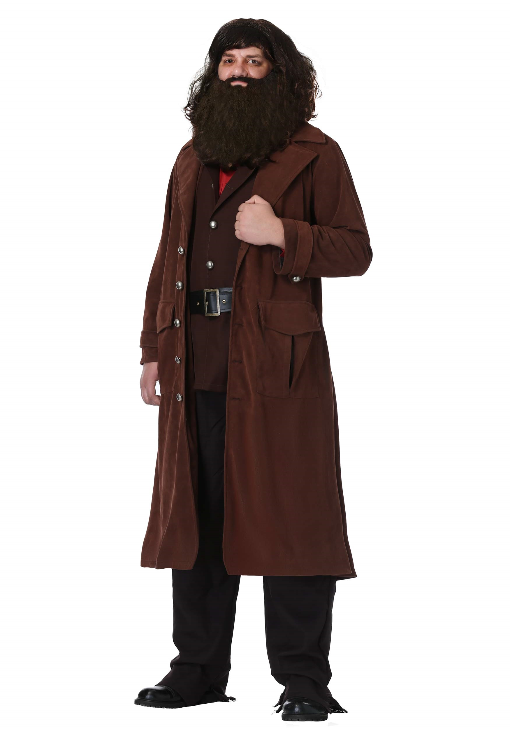 Harry potter costumes accessories halloweencostumes deluxe hagrid adult costume solutioingenieria Images