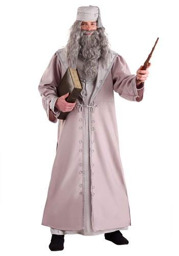 Click Here to buy Adult Deluxe Plus Size Dumbledore Costume from HalloweenCostumes, USA Funds & Shipping