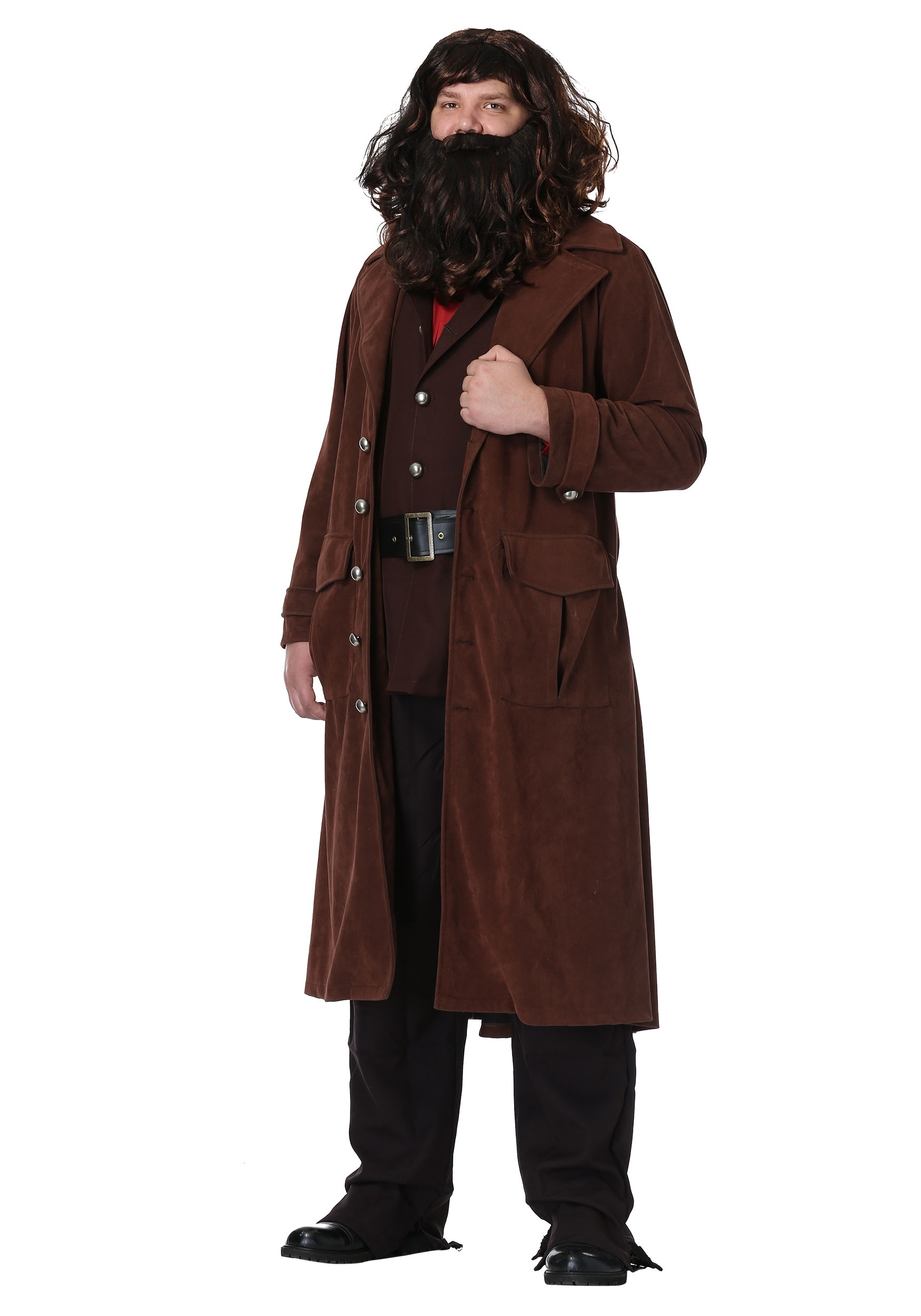 Delightful Harry Potter Deluxe Hagrid Plus Size Mens Costume