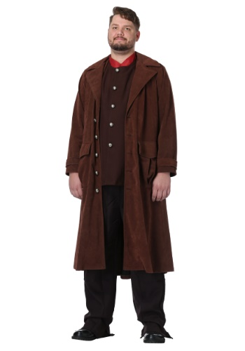 Click Here to buy Harry Potter Deluxe Hagrid Plus Size Mens Costume from HalloweenCostumes, USA Funds & Shipping
