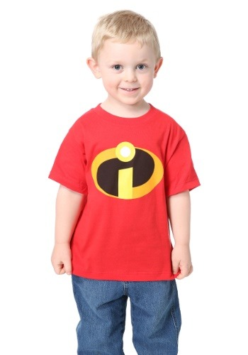 Click Here to buy Incredibles Costume Tee for Toddlers from HalloweenCostumes, USA Funds & Shipping