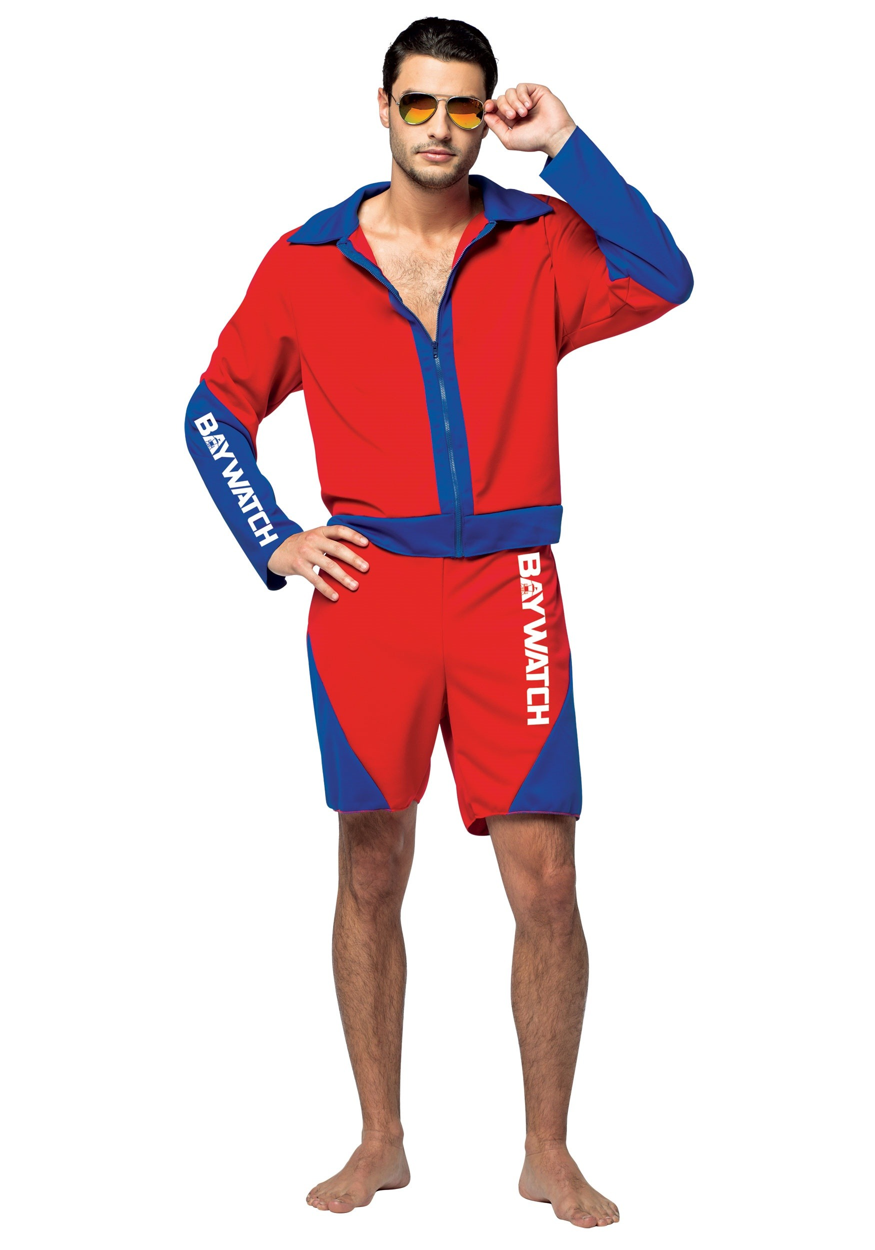 Adult Baywatch Menu0027s Costume  sc 1 st  Halloween Costumes & Funny Halloween Costumes For Men u0026 Women