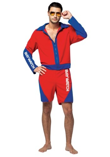 Click Here to buy Adult Baywatch Mens Costume from HalloweenCostumes, USA Funds & Shipping