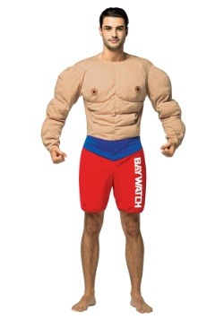 Men's Baywatch Muscles Costume