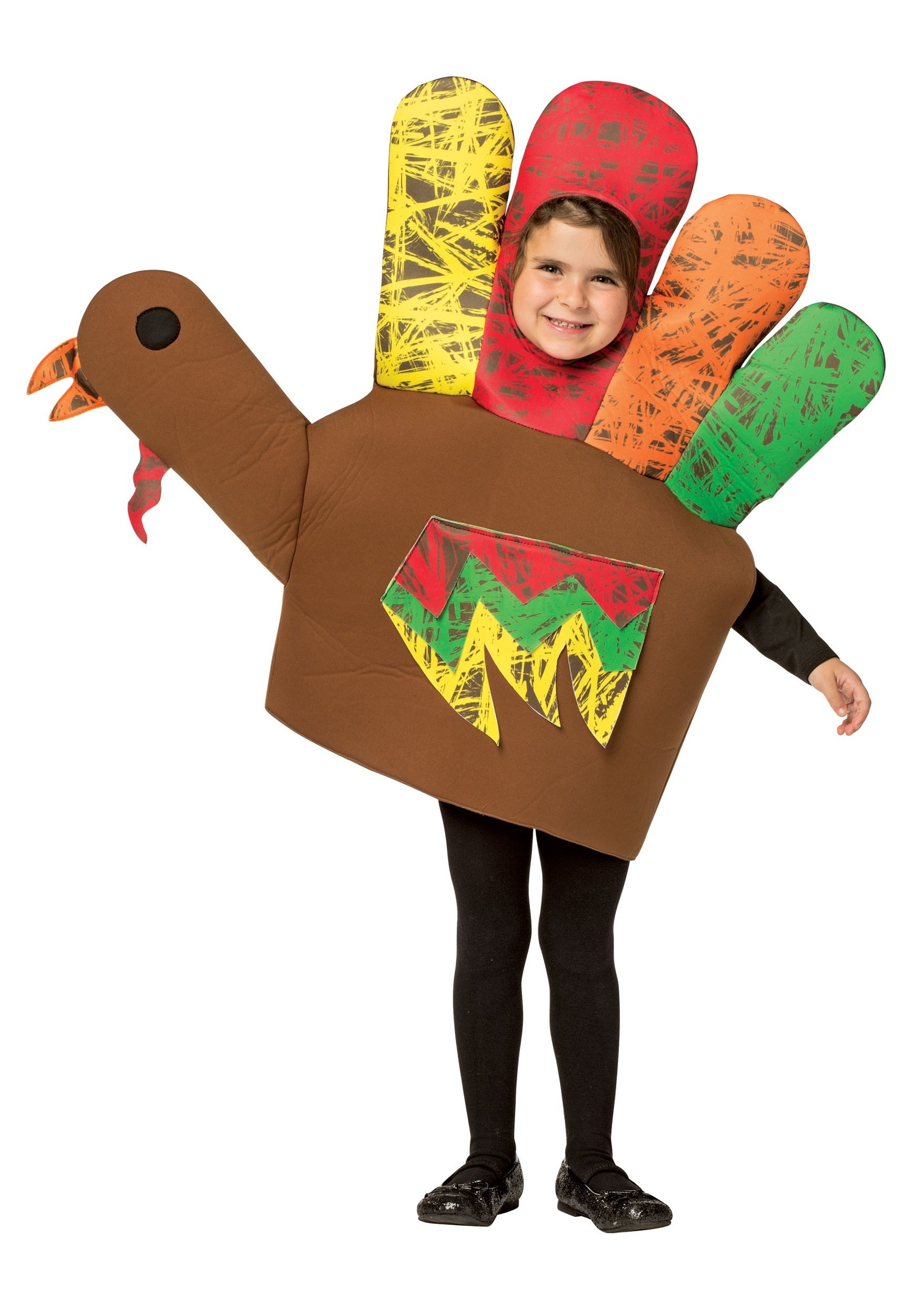 hand turkey costume for kids