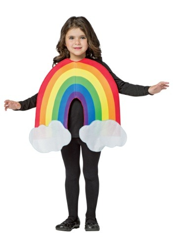 Click Here to buy Rainbow Kids Costume from HalloweenCostumes, USA Funds & Shipping