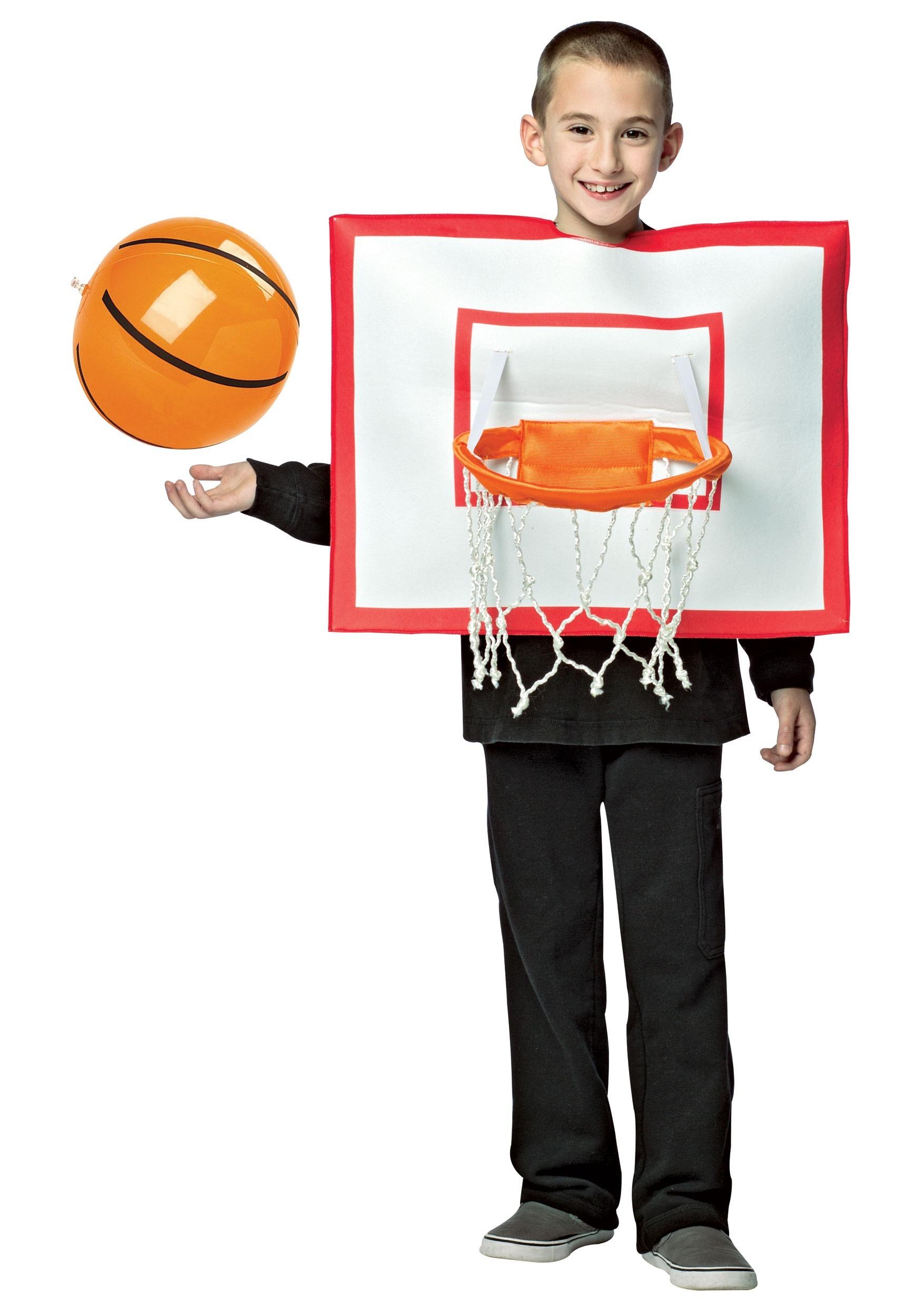 basketball hoop costume for kids