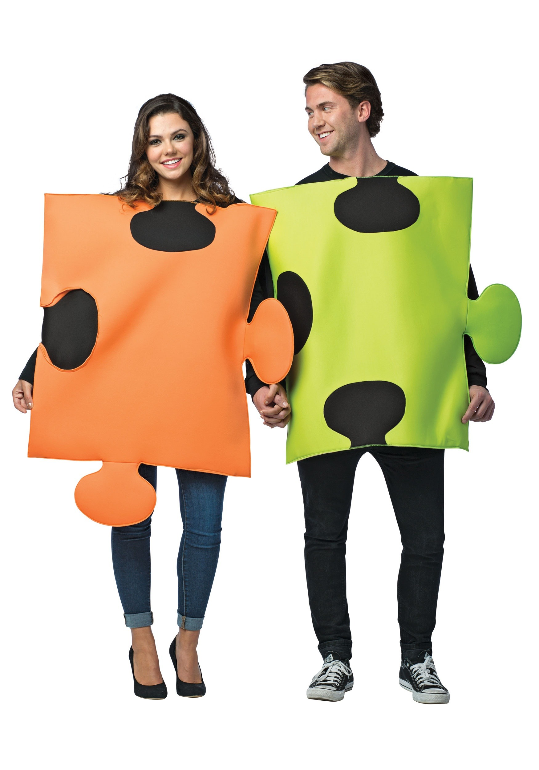 Puzzle Pieces Couple Costume RA6197