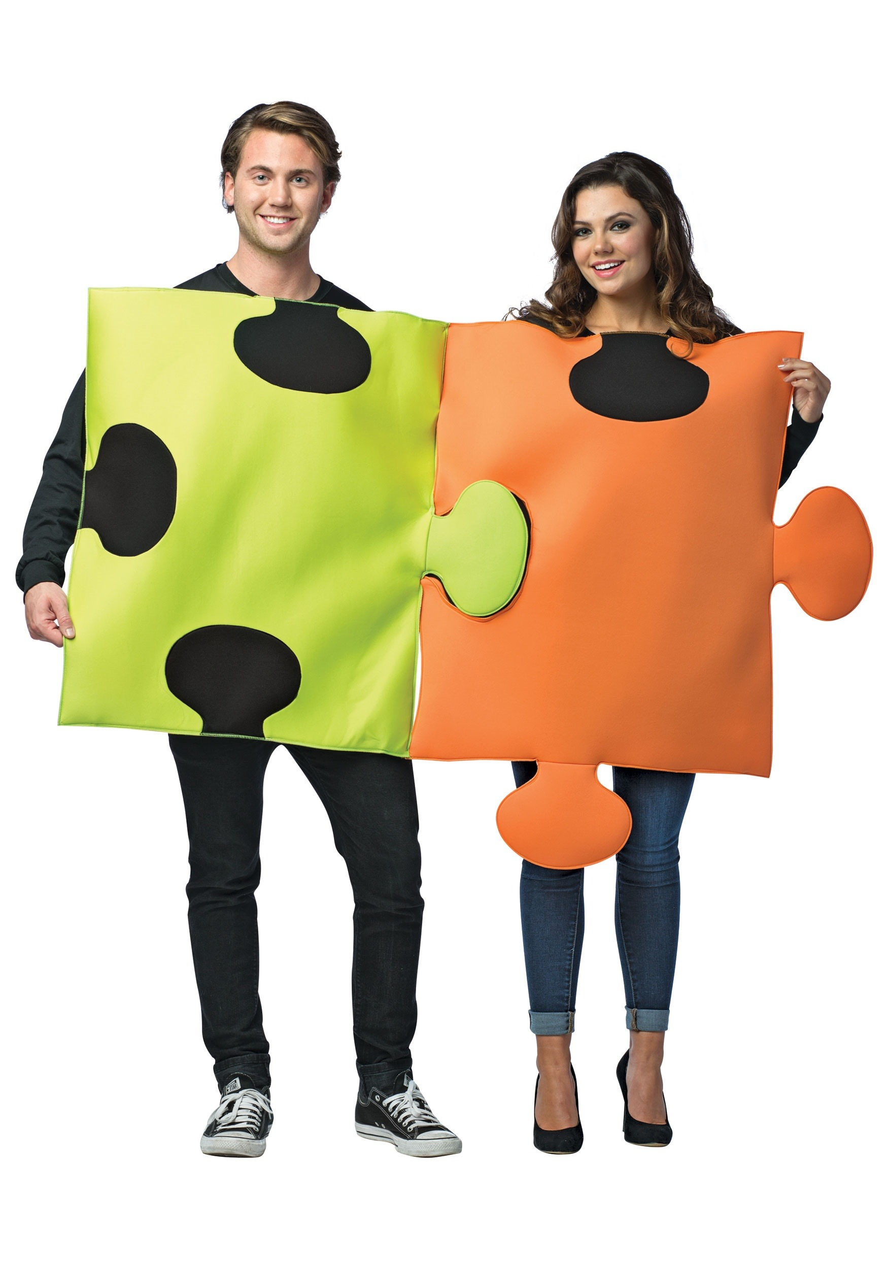 Puzzle Pieces Costume for Couples
