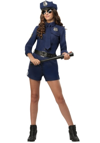POLICE OFFICER WOMEN'S COSTUME