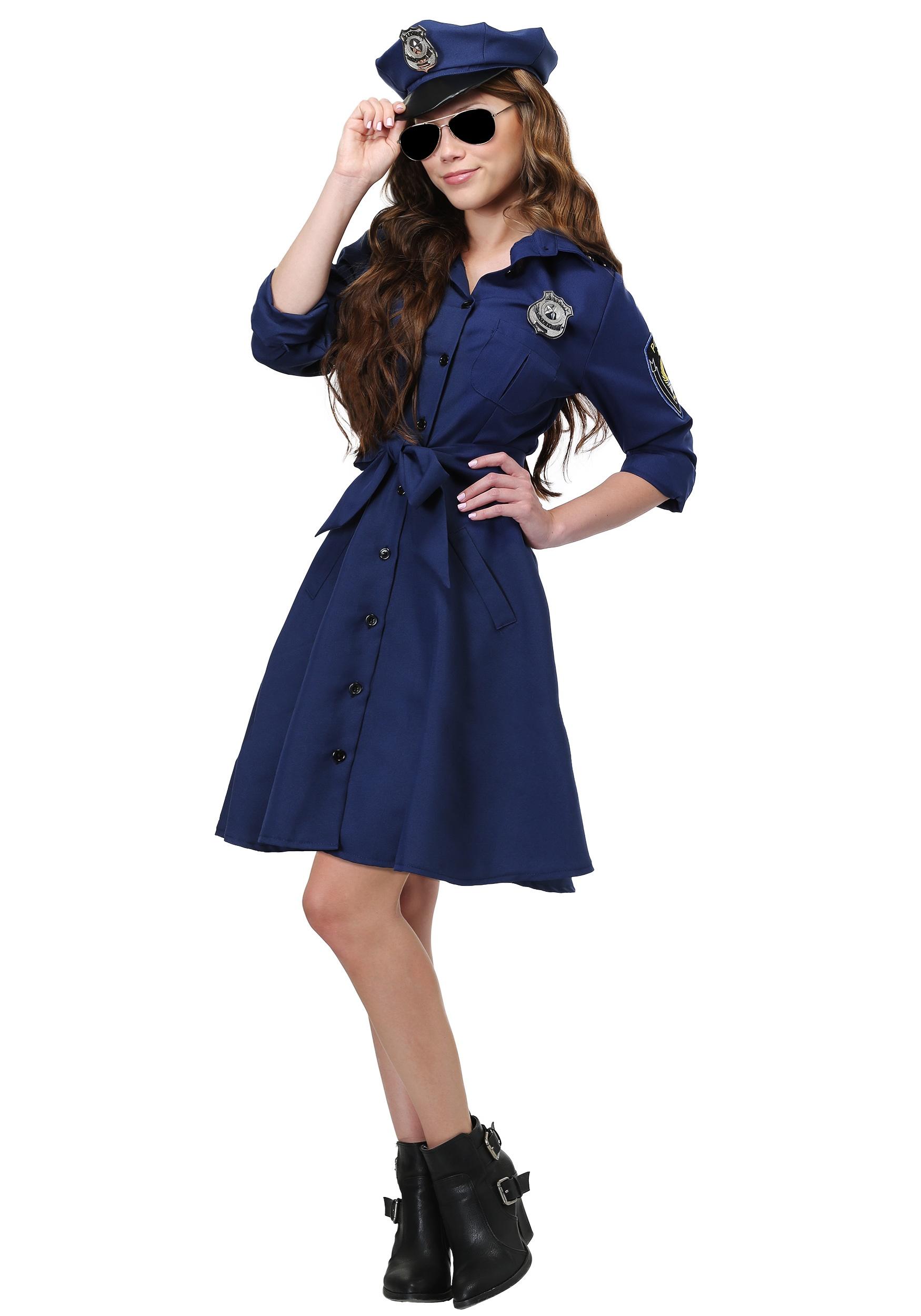 Flirty Cop Plus Size Costume for Women 1X 2X