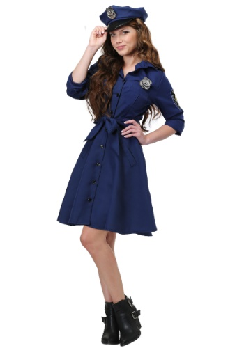 Flirty Cop Plus Size Costume for Women