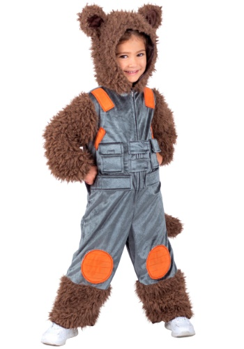Click Here to buy Guardians of the Galaxy Rocket Raccoon Kids Costume from HalloweenCostumes, USA Funds & Shipping