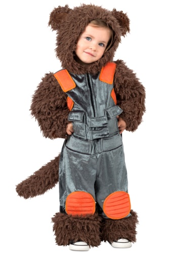 Click Here to buy Guardians of the Galaxy Rocket Raccoon Costume for Toddlers from HalloweenCostumes, USA Funds & Shipping