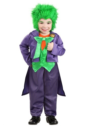 Click Here to buy The Joker Costume for Toddlers from HalloweenCostumes, CDN Funds