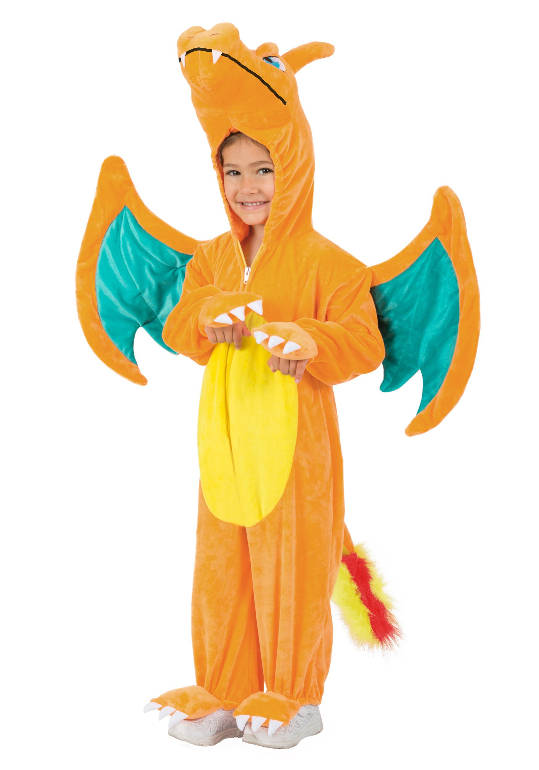 charizard pokemon jumpsuit costume