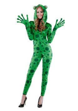 Women's Frisky Frog Costume