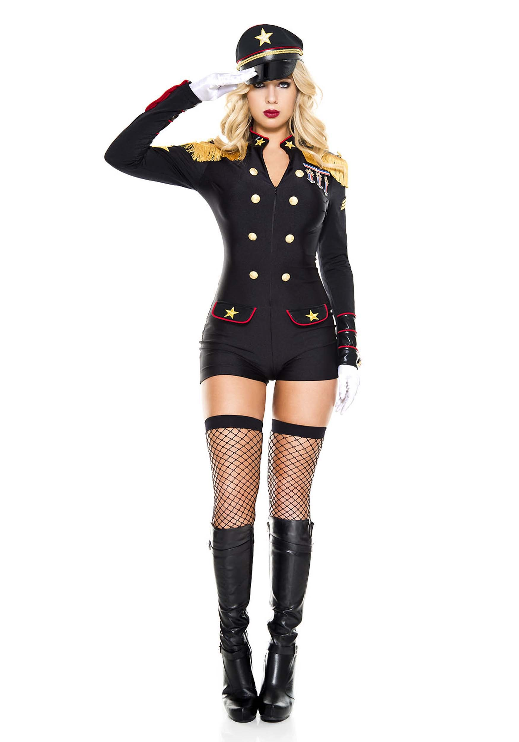 Military General Costume for Women