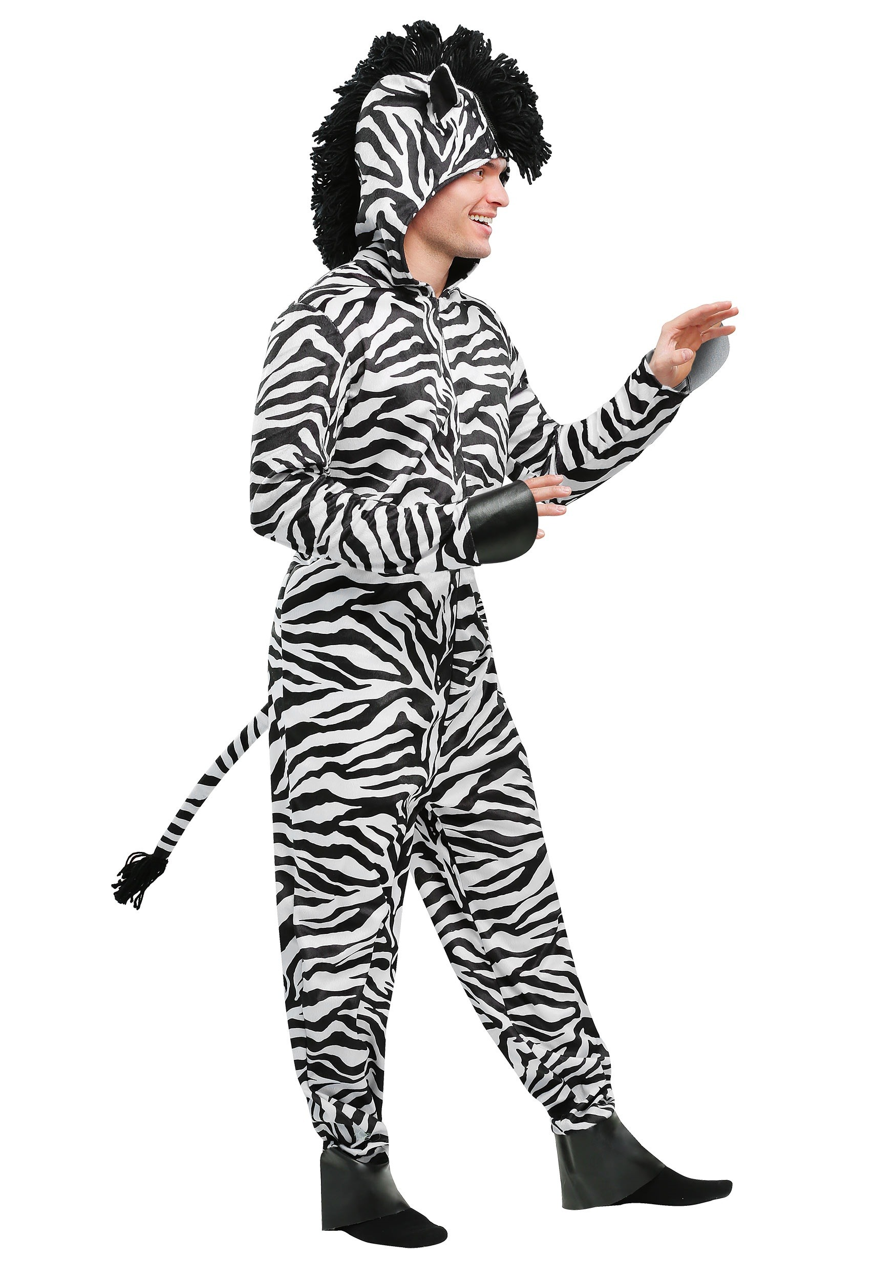 Plus sized adult zebra costume 2x adult plus zebra costume solutioingenieria Gallery