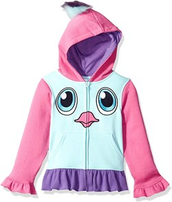 Girl's Hatchimals Pengualas Costume Hoodie