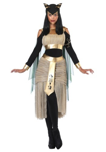 Egyptian Goddess Bastet Costume for Women