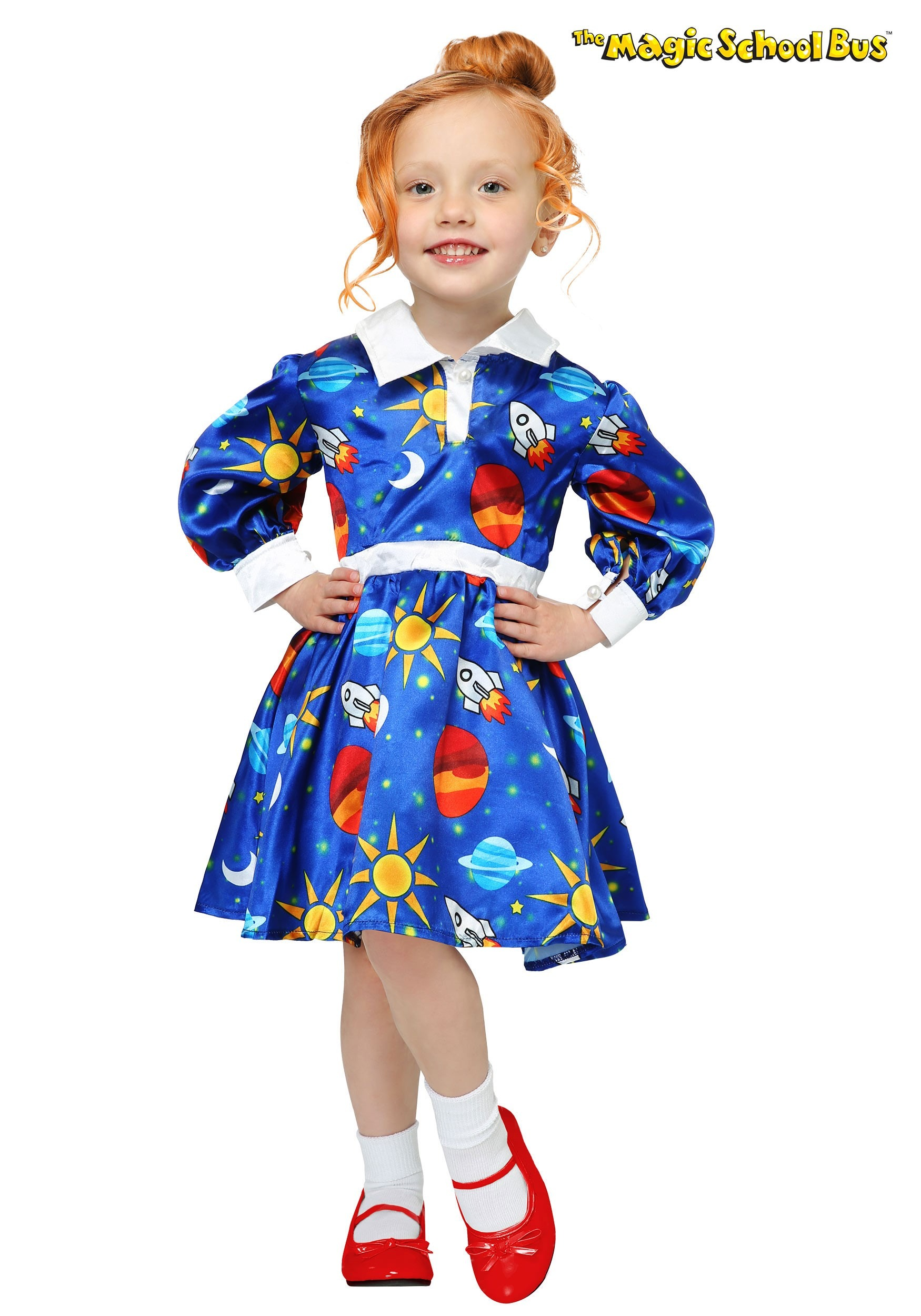 Magic School Bus Ms. Frizzle Toddler Costume  sc 1 st  Halloween Costumes & Magic School Bus Ms. Frizzle Costume for Toddlers