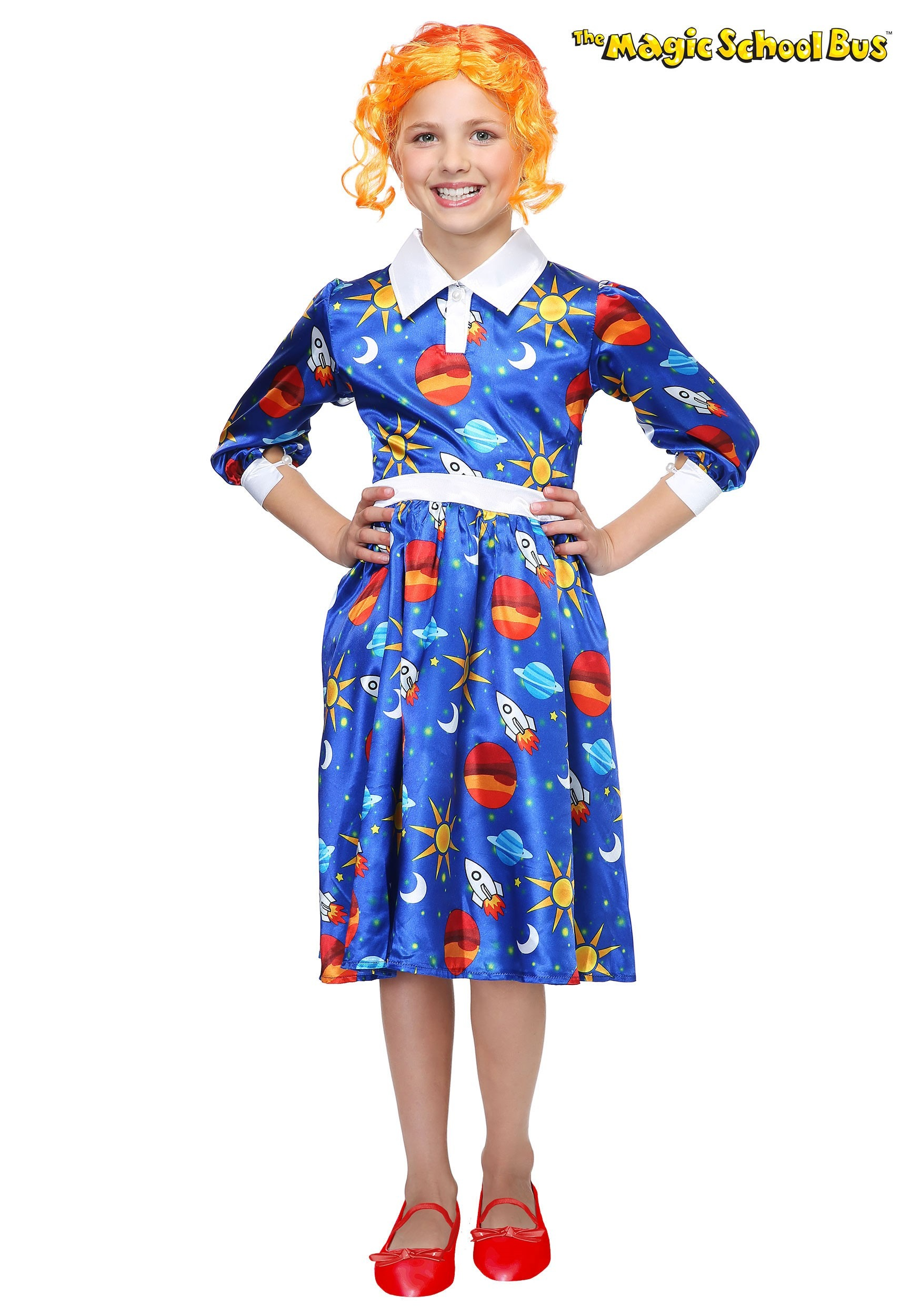 magic school bus ms frizzle kids costume