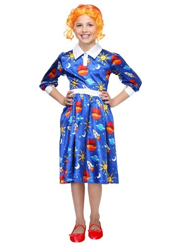 Click Here to buy Magic School Bus Ms. Frizzle Kids Costume from HalloweenCostumes, USA Funds & Shipping