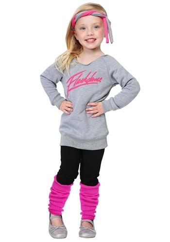 Click Here to buy Toddler Flashdance Costume from HalloweenCostumes, USA Funds & Shipping