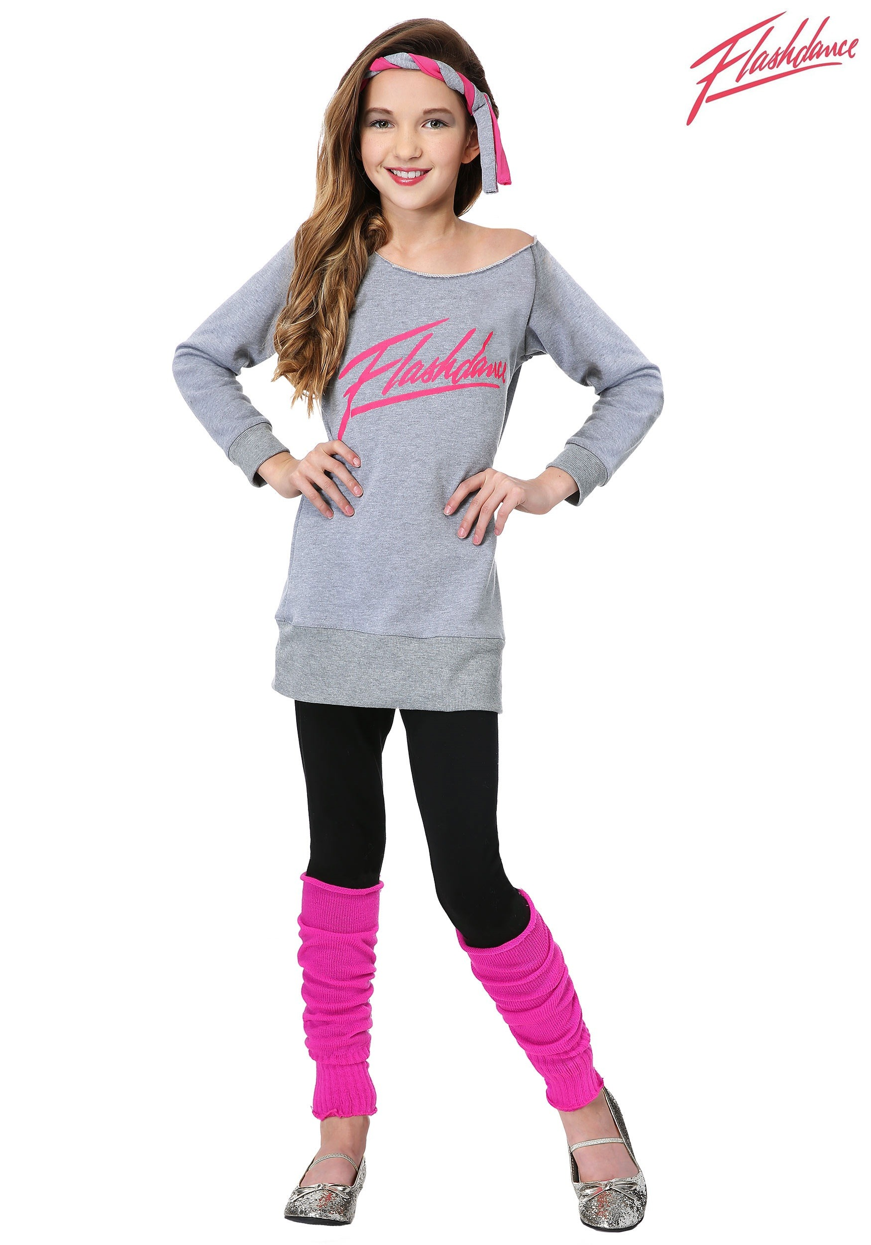 Child Flashdance Costume  sc 1 st  Halloween Costumes & Officially Licensed Child Flashdance Costume