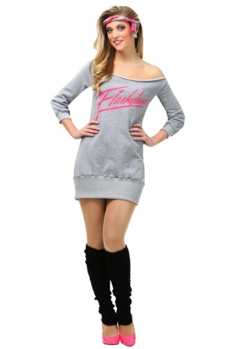 Click Here to buy Flashdance Womens Plus Size Costume 1X 2X 3X from HalloweenCostumes, CDN Funds