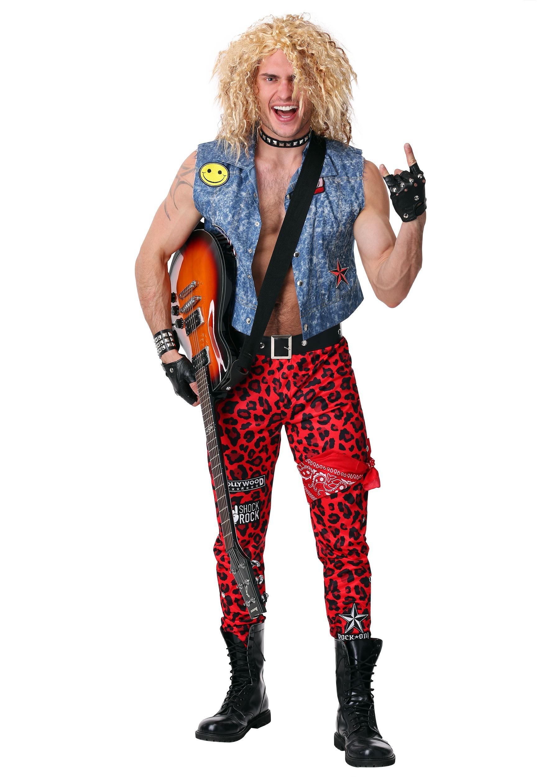 80 S Rocker Mens Costume