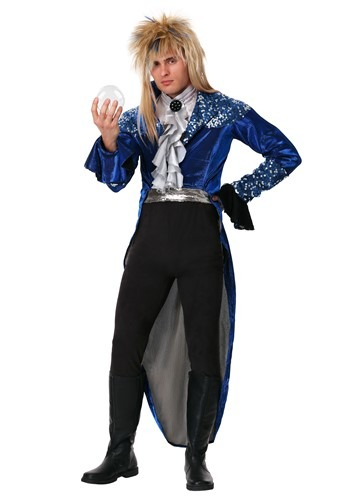 Click Here to buy Labyrinth Deluxe Jareth Adult Costume from HalloweenCostumes, CDN Funds