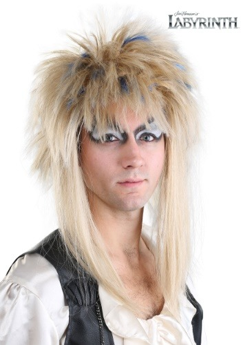 Jareth Labyrinth Adult Wig