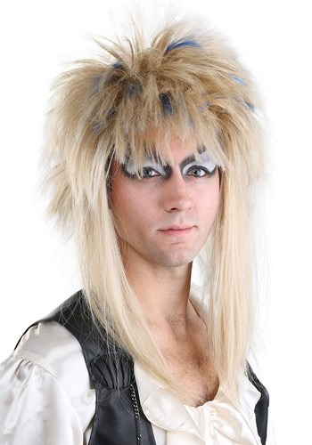Click Here to buy Labyrinth Jareth Mens Wig from HalloweenCostumes, CDN Funds