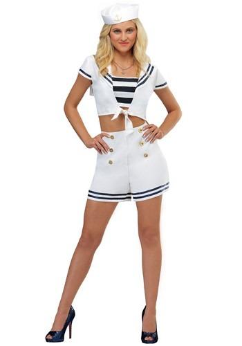 Nautical Womens Seven Seas Sailor Costume-5917