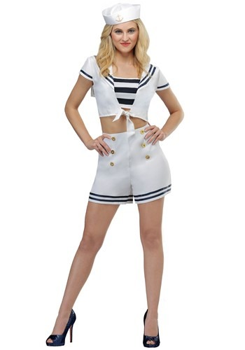 Womens Seven Seas Sailor Costume