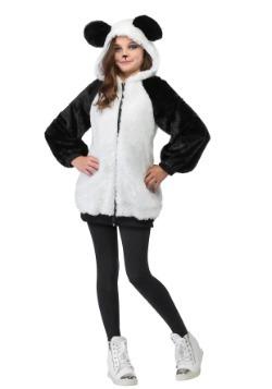 Girls Panda Hoodie Costume