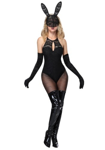 Click Here to buy Lace Bunny Womens Costume from HalloweenCostumes, CDN Funds