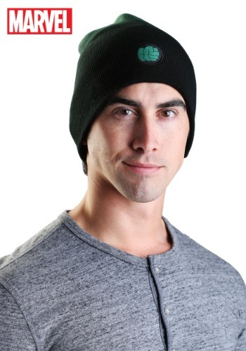 Click Here to buy Marvel Hulk Dip-Dye Slouch Knit Hat from HalloweenCostumes, USA Funds & Shipping