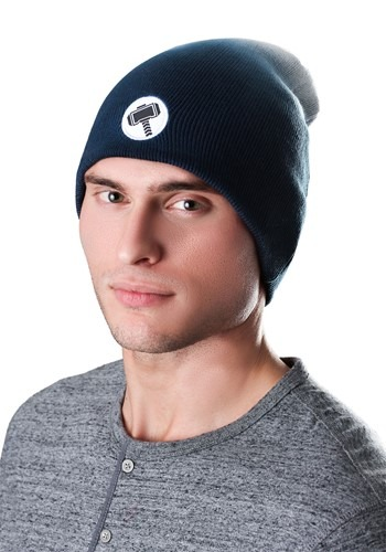 Click Here to buy Marvel Thor Dip Dye Slouch Knit Hat from HalloweenCostumes, USA Funds & Shipping