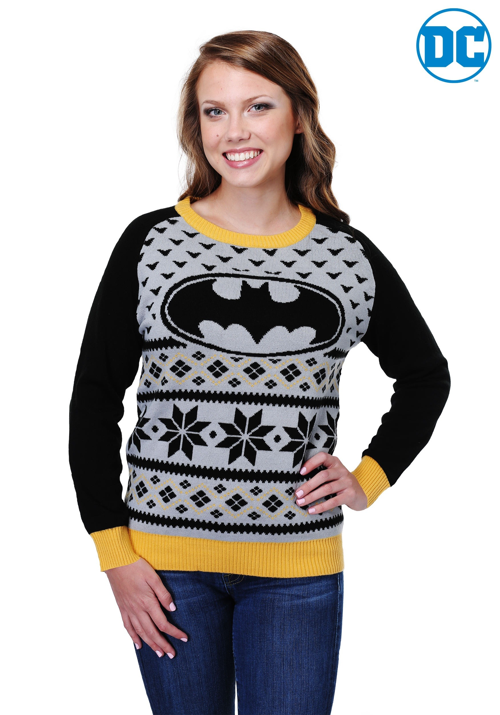 Batman Women S Ugly Christmas Sweater