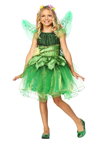 Click Here to buy Garden Fairy Girls Costume from HalloweenCostumes, CDN Funds