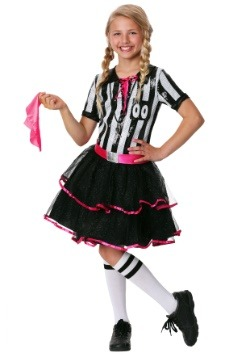 Girls Darling Ref Costume