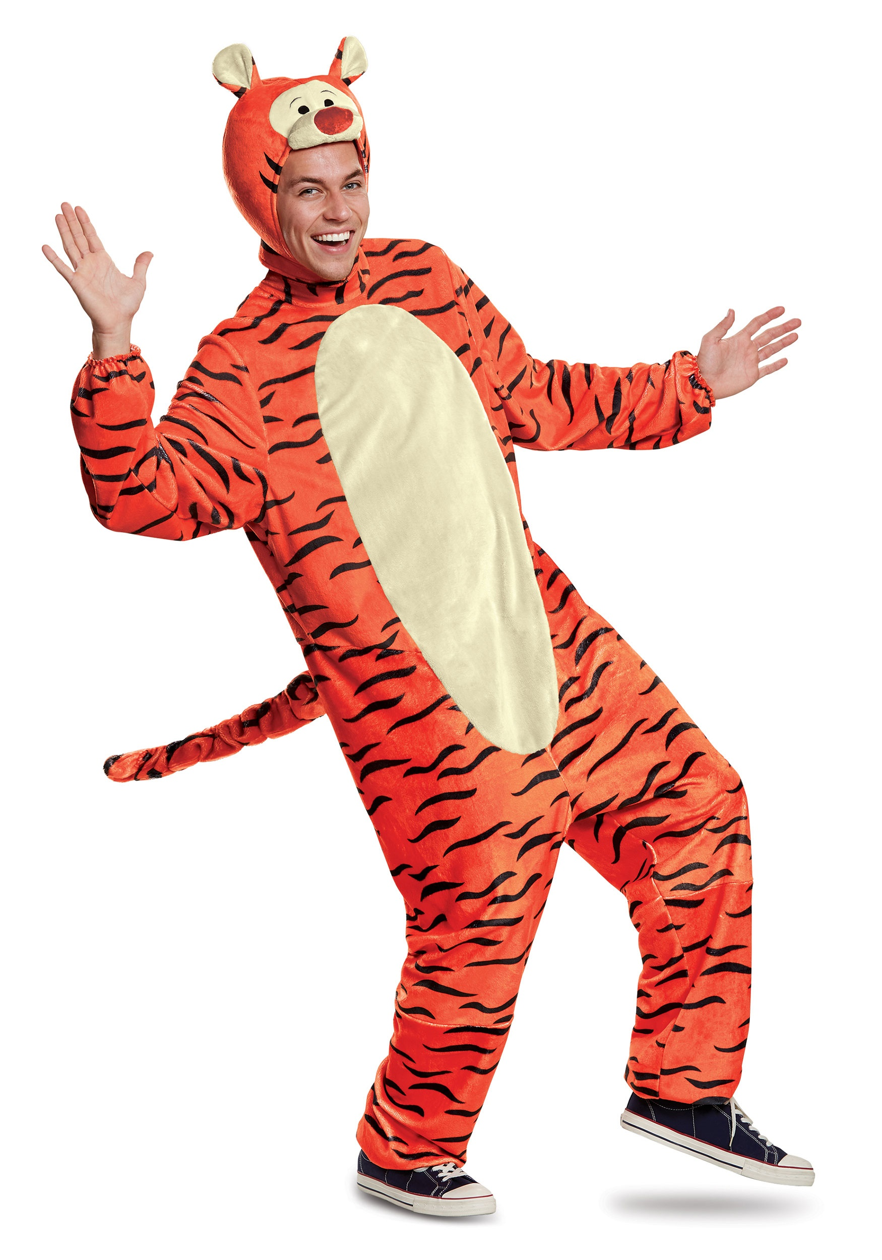 Tigger Deluxe Adult Costume Tigger Deluxe Adult Costume ...  sc 1 st  Halloween Costumes & Adult Tigger Deluxe Costume